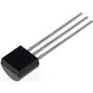 Tranzistor bipolární NPN 80V 500mA 625mW TO92 2,54mm
