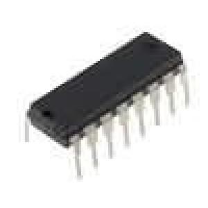 4522 IC číslicový BCD, counter, divide by N 4bit CMOS DIP16