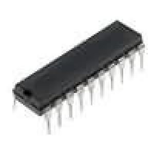 CD74HC640E IC číslicový 3-state, bus transceiver, inverting Kanály:8
