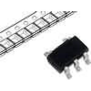 NC7S00M5X IC číslicový NAND Kanály:1 SOT23-5 2-6VDC