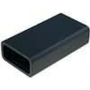Krabička univerzální X:48mm Y:88mm Z:24mm plast černá