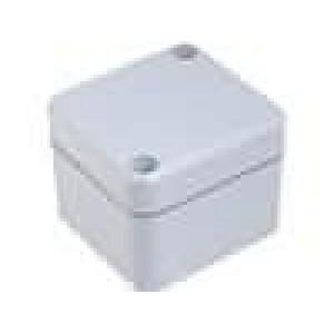 Krabička univerzální EURONORD X:50mm Y:52mm Z:40mm ABS šedá IK07