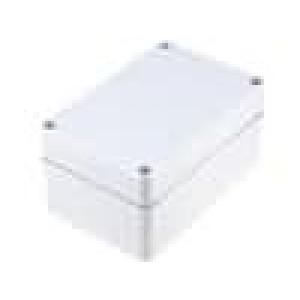 Krabička univerzální EURONORD X:80mm Y:120mm Z:60mm ABS šedá