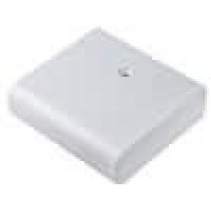 Krabička univerzální X:60mm Y:68mm Z:20mm ABS šedá 1 vrut