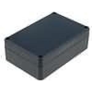 Krabička univerzální X:80mm Y:120mm Z:41mm ABS černá
