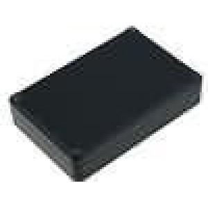 Krabička univerzální X:80mm Y:120mm Z:27mm ABS černá