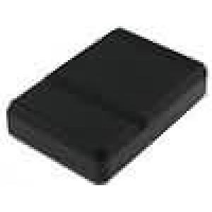 Krabička univerzální X:89mm Y:129,5mm Z:17,5mm ABS černá