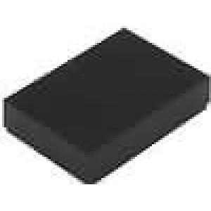Krabička univerzální X:33mm Y:47mm Z:10mm ABS černá