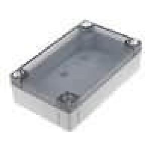 Krabička univerzální MNX X:80mm Y:130mm Z:35mm ABS šedá IK07