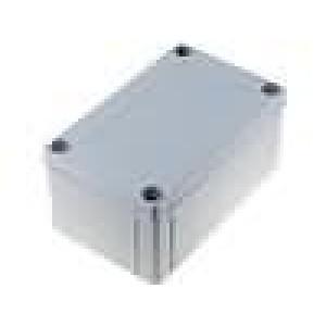 Krabička univerzální MNX X:80mm Y:130mm Z:60mm ABS šedá IK07