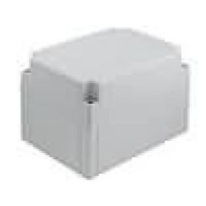 Krabička univerzální MNX X:130mm Y:180mm Z:125mm ABS šedá IK07