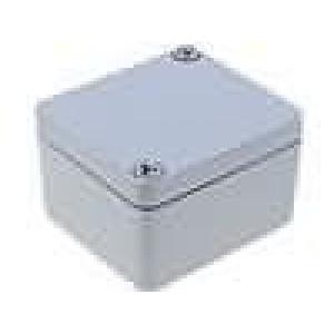 Krabička univerzální ALUEIN X:45mm Y:50mm Z:30mm hliník šedá