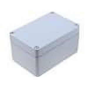 Krabička univerzální ALUEIN X:100mm Y:150mm Z:81mm hliník šedá