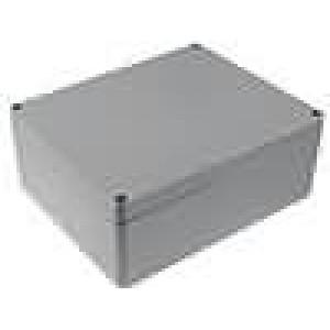 Krabička univerzální ALUEIN X:230mm Y:280mm Z:110mm hliník šedá