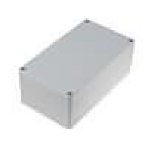 Krabička univerzální X:90mm Y:158mm Z:61mm ABS šedá