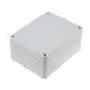 Krabička univerzální X:90mm Y:115mm Z:55mm ABS šedá