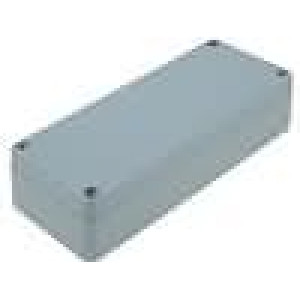 Krabička univerzální X:64mm Y:150mm Z:36mm hliník šedá IP65