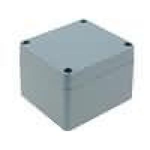 Krabička univerzální X:70mm Y:80mm Z:57mm hliník šedá IP65