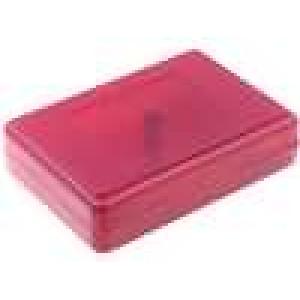 Krabička univerzální X:59mm Y:84mm Z:22mm ABS červená