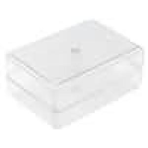Krabička univerzální X:59mm Y:84mm Z:37mm ABS transparentní