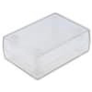 Krabička univerzální X:47mm Y:66mm Z:25mm ABS transparentní
