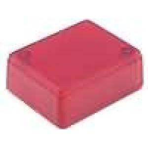 Krabička univerzální X:40mm Y:50mm Z:20mm ABS červená