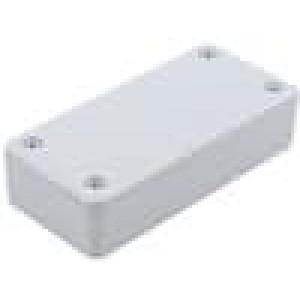 Krabička univerzální X:45mm Y:95mm Z:23mm polystyrén šedá