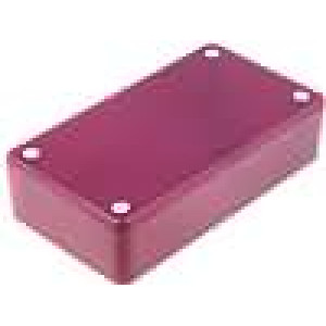 Krabička univerzální X:59,5mm Y:109mm Z:28mm ABS červená