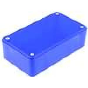 Krabička univerzální X:71,5mm Y:124mm Z:38mm ABS modrá