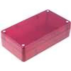 Krabička univerzální X:84,5mm Y:154mm Z:42,5mm ABS červená