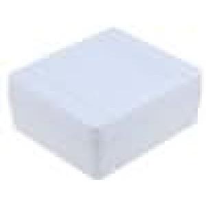 Krabička univerzální X:80mm Y:90mm Z:38mm polystyrén šedá