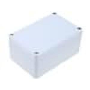 Krabička univerzální EUROMAS II X:80mm Y:120mm Z:57mm šedá IP65