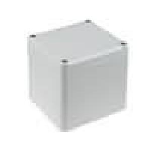 Krabička univerzální EUROMAS II X:80mm Y:82mm Z:87mm ABS šedá