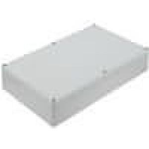 Krabička univerzální EUROMAS II X:160mm Y:250mm Z:57mm ABS šedá