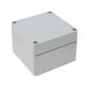 Krabička univerzální EUROMAS X:120mm Y:122mm Z:91mm hliník IP66
