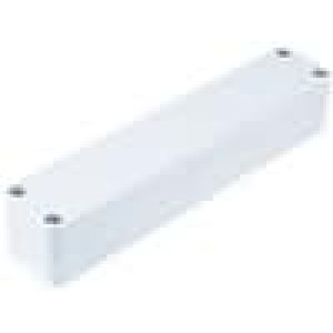 Krabička univerzální X:36mm Y:184mm Z:35mm polykarbonát šedá