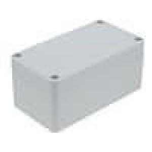 Krabička univerzální X:65mm Y:115mm Z:55mm polykarbonát šedá