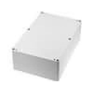 Krabička univerzální X:146mm Y:222mm Z:75mm polykarbonát šedá