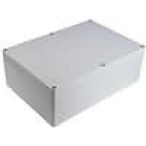 Krabička univerzální X:185mm Y:265mm Z:95mm polykarbonát šedá