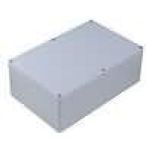 Krabička univerzální X:160mm Y:240mm Z:90mm ABS šedá IP65