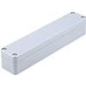 Krabička univerzální X:36mm Y:184mm Z:35mm ABS šedá IP65