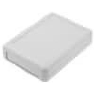 Krabička univerzální X:75mm Y:105mm Z:26,4mm ABS šedá