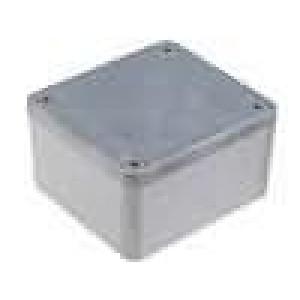 Krabička univerzální 1550Z X:58,4mm Y:64,4mm Z:35,4mm hliník