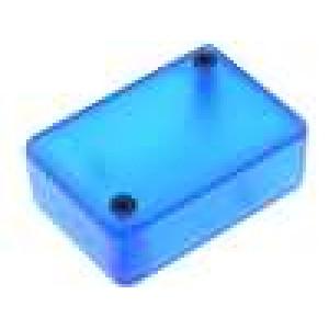 Krabička univerzální 1551 X:35mm Y:50mm Z:20mm ABS modrá IP54