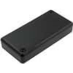 Krabička univerzální 1551 X:40mm Y:80mm Z:15mm ABS černá IP54