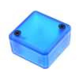 Krabička univerzální 1551 X:35mm Y:35mm Z:20mm ABS modrá IP54