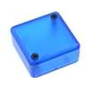 Krabička univerzální 1551 X:40mm Y:40mm Z:20mm ABS modrá IP54