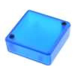Krabička univerzální 1551 X:50mm Y:50mm Z:20mm ABS modrá IP54