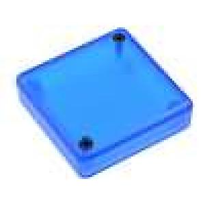 Krabička univerzální 1551 X:50mm Y:50mm Z:15mm ABS modrá IP54
