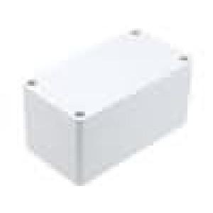 Krabička univerzální 1554 X:65mm Y:120mm Z:60mm ABS šedá